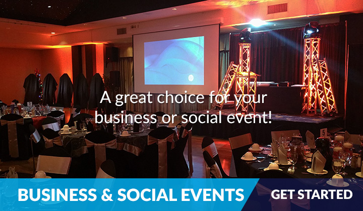 Business & Social Events