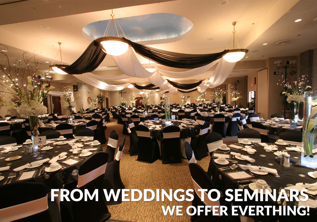 From Weddings To Seminars We Offer Everything